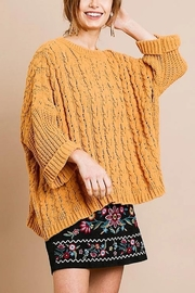 Umgee  Oversized Beauty Sweater - Product Mini Image