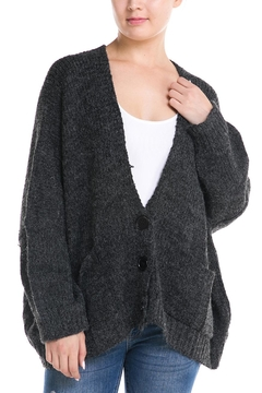 Shoptiques Product: Oversized Button Cardigan