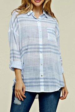 Miss Darlin Oversized Button Down - Product List Image
