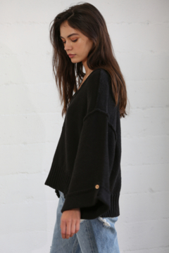 By Together Oversized Button Down Sweater - Alternate List Image