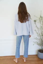 By Together Oversized Button Down Sweater - Front full body