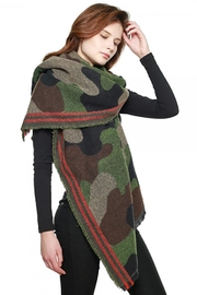 Lets Accessorize Oversized Camouflage Scarf - Product Mini Image