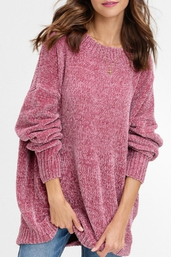Listicle Oversized Chenille Sweater - Product List Image