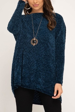 She + Sky Oversized Chenille Sweater - Product List Image