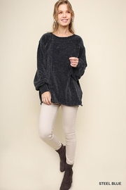 Umgee Oversized Chenille Sweater - Product Mini Image