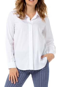 Liverpool  Oversized Classic Button Down - Product List Image
