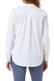 Liverpool  Oversized Classic Button Down - Front full body