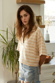 By Together  Oversized collared short sleeve shirt - Product Mini Image