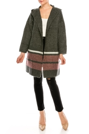 Jolie Oversized Colorblock Sweater - Product Mini Image