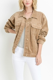 C'Est Toi Oversized Corduroy Jacket - Product Mini Image