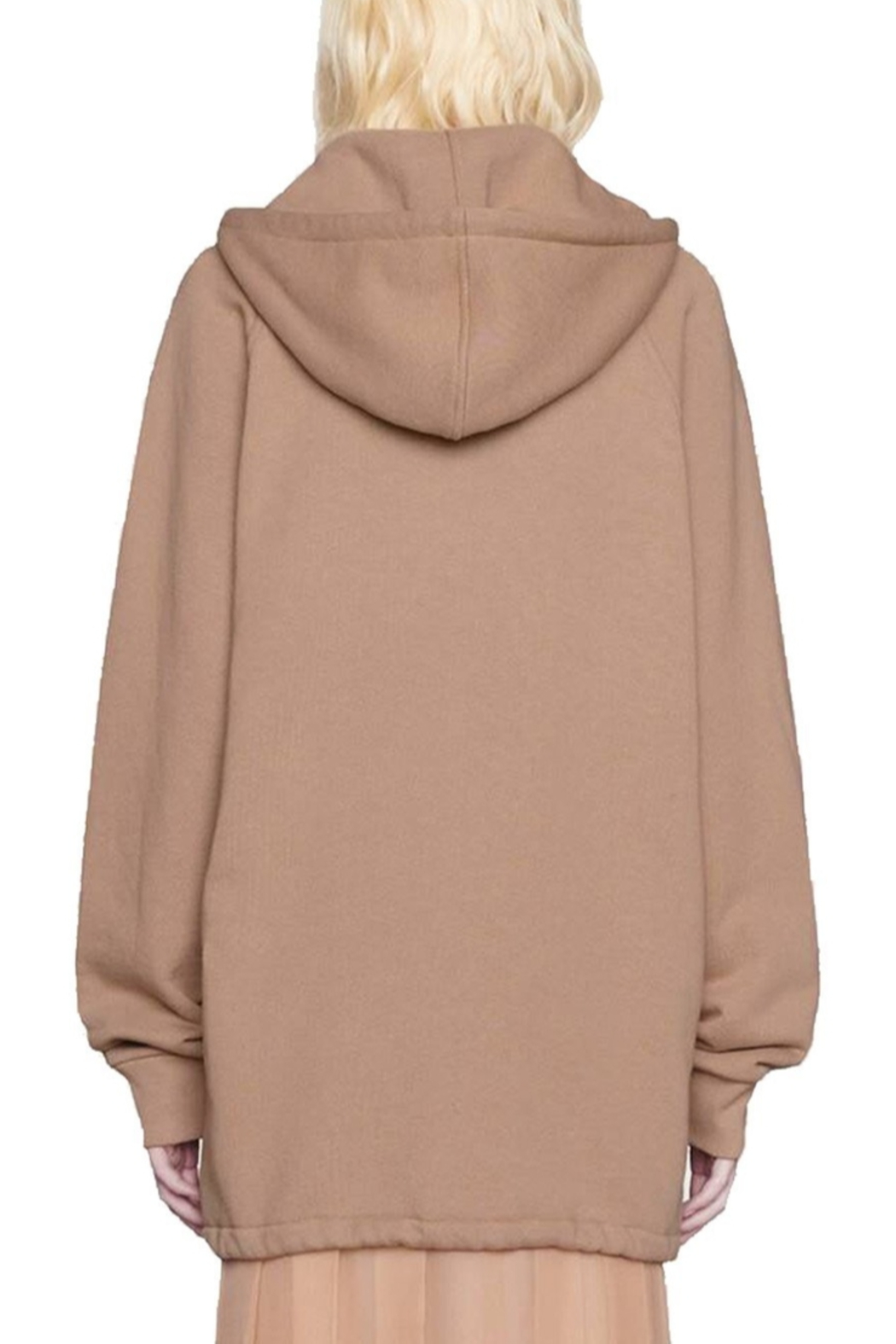 Gucci Oversized Cotton-Jersey Hoodie - Front Full Image
