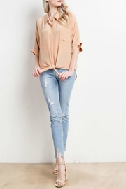 Mittoshop Oversized Crepe To - Side cropped