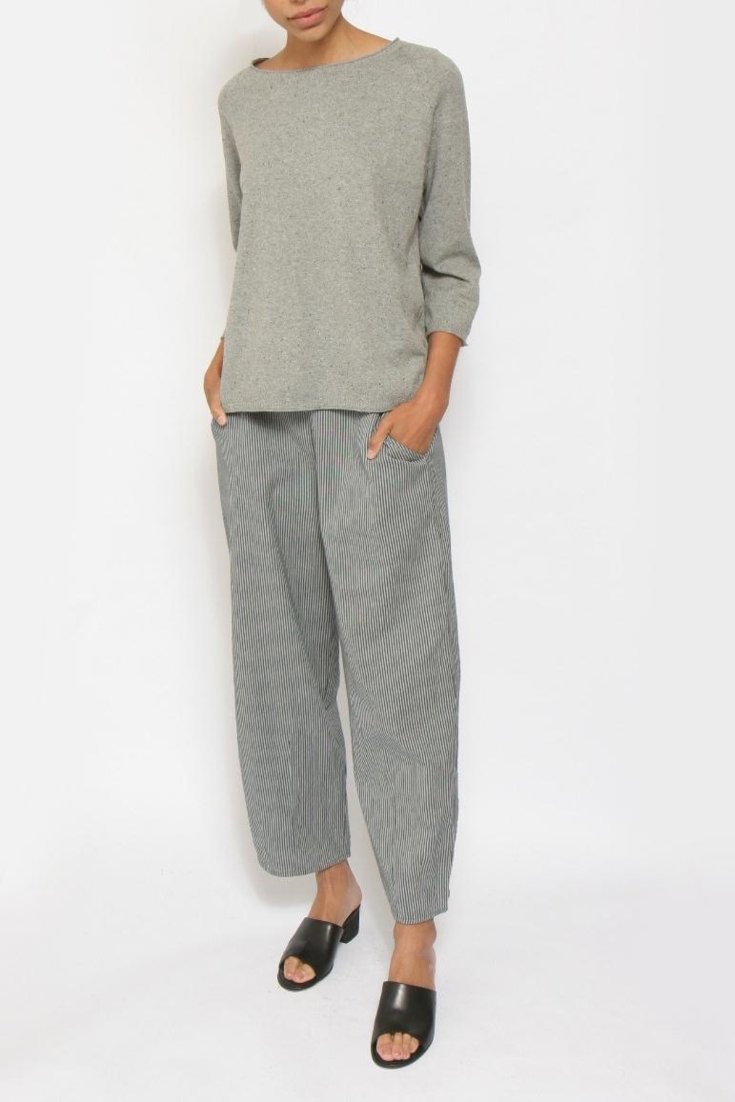 Two Danes Oversized Divani Sweater - Front Cropped Image