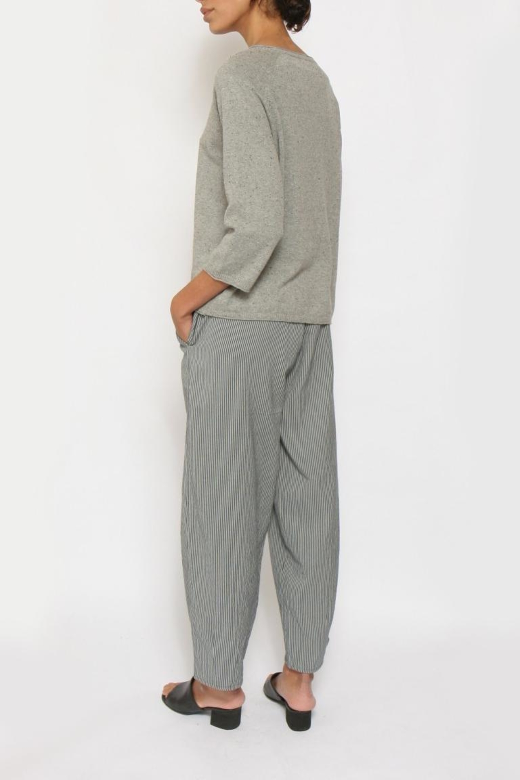 Two Danes Oversized Divani Sweater - Back Cropped Image