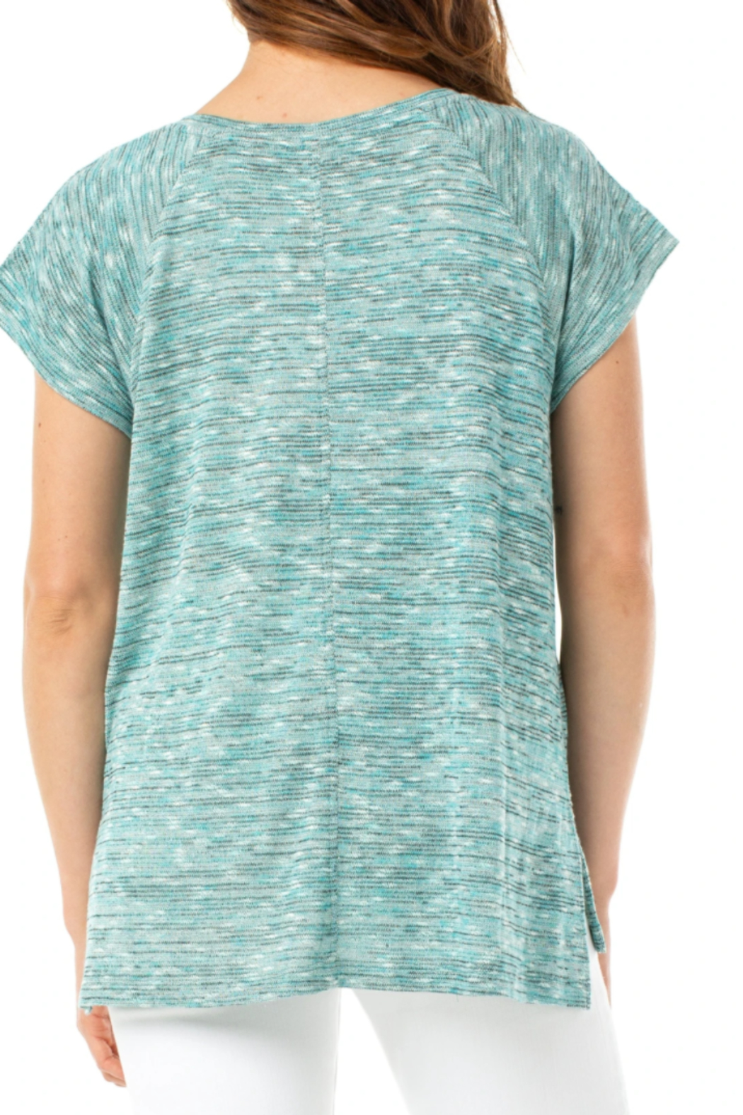 Liverpool Oversized Dolman Knit Top - Front Full Image
