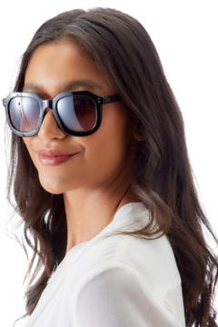 Two's Company Oversized Geometrical Sunglasses - Alternate List Image
