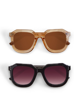 Two's Company Oversized Geometrical Sunglasses - Product List Image