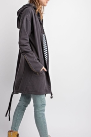 easel Oversized Hoodie - Front cropped