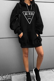 Los Angeles Trading Co.  Oversized Hoodie - RAD - Product Mini Image