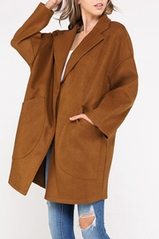 hers and mine Oversized Jacket - Front cropped