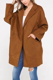 hers and mine Oversized Jacket - Front full body