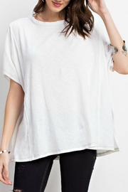 easel Oversized Knit Tee - Product Mini Image