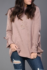 Wishlist Oversized Mauve Sweater - Product Mini Image