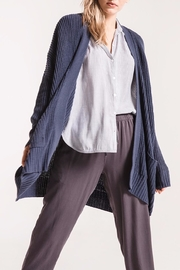 rag poets Oversized Open Cardigan - Front cropped