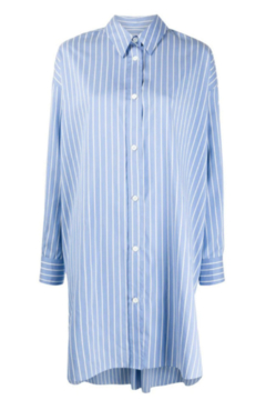Isabel Marant Oversized Pinstripe Button Down Shirt - Product List Image