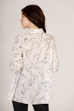 Moodie Abstract Printed Blouse - Product List Image