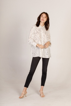 Moodie Abstract Printed Blouse - Alternate List Image