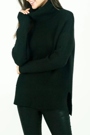 Six Fifty Oversized Rib Turtleneck Sweater - Product Mini Image