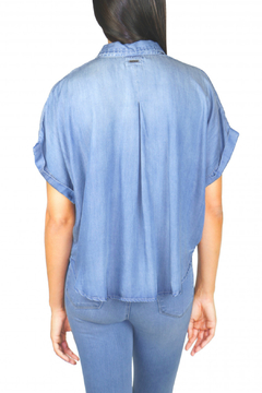 Tractr Oversized Short Sleeve Button Up - Alternate List Image