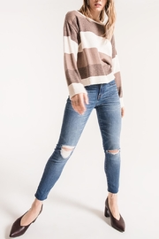 rag poets Oversized Striped Sweater - Product Mini Image