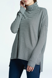 Press Oversized Striped Turtleneck - Product Mini Image
