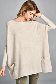 Tea n Rose Oversized Sweater - Alternate List Image