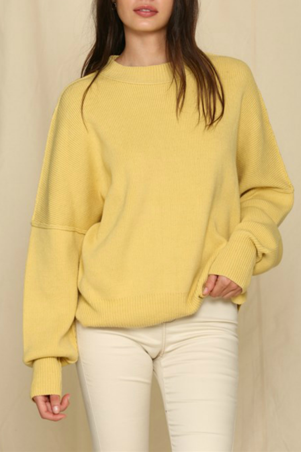 By Together  Oversized Sweater Top - Main Image