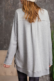 easel  Oversized Sweatshirt - Front full body