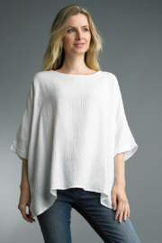 Tempo Paris  OVERSIZED TEE - Front cropped