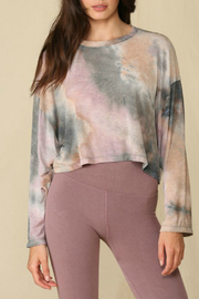 By Together  Oversized Terry Top - Front cropped