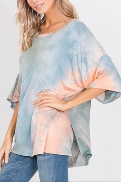 Hopely Oversized Tie-Dye Top - Alternate List Image