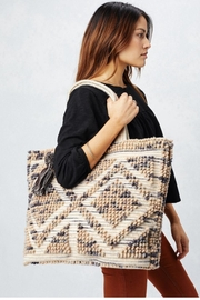 Cashmere N Tee Oversized Tote Bag - Product Mini Image