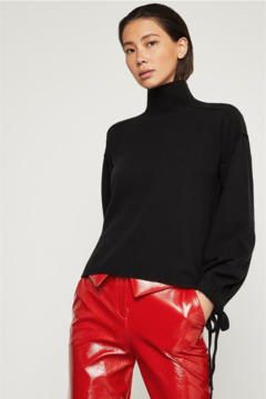 BCBG Max Azria Oversized Turtleneck Pullover - Product List Image