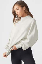 Joah Brown Oversized Turtleneck Sweatshirt - Side cropped