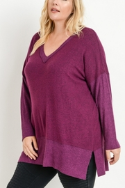 JODIFIL OVERSIZED VNECK SWEATER - Front cropped