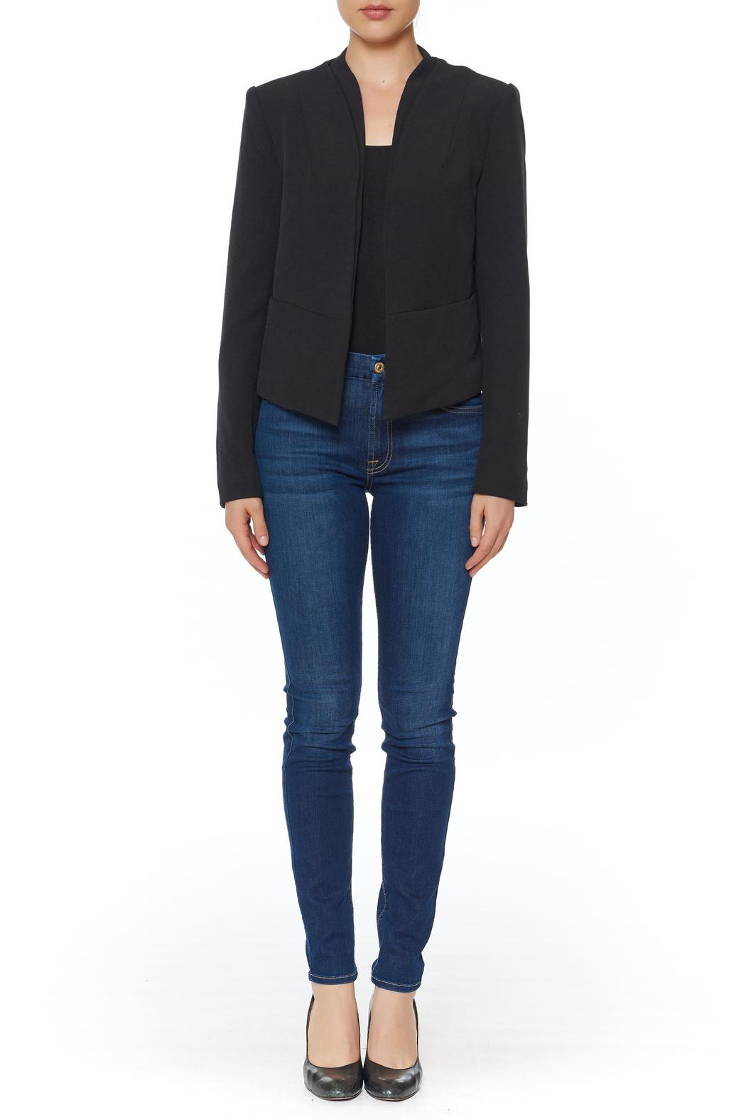 OVI Cropped Open Blazer - Main Image