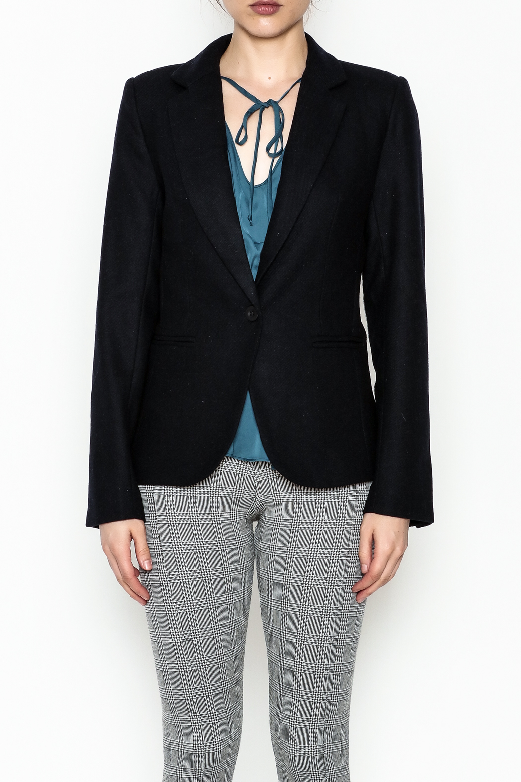 OVI Elbow Patch Blazer - Front Full Image