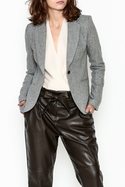 OVI Elbow Patch Blazer - Front cropped