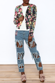 Shoptiques Product: Modern Floral Blazer - Front full body