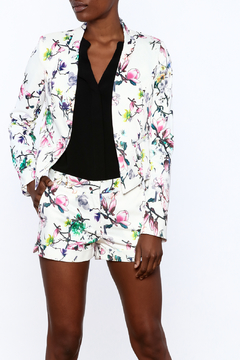 Shoptiques Product: Colorful Floral Print Blazer